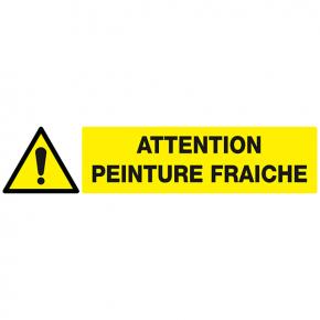 Signaux de danger attention peinture fraiche signaux de danger achatmat - Attention peinture fraiche ...