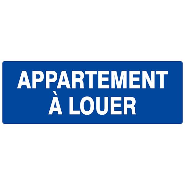 panneau appartement louer signaux instruction achatmat. Black Bedroom Furniture Sets. Home Design Ideas