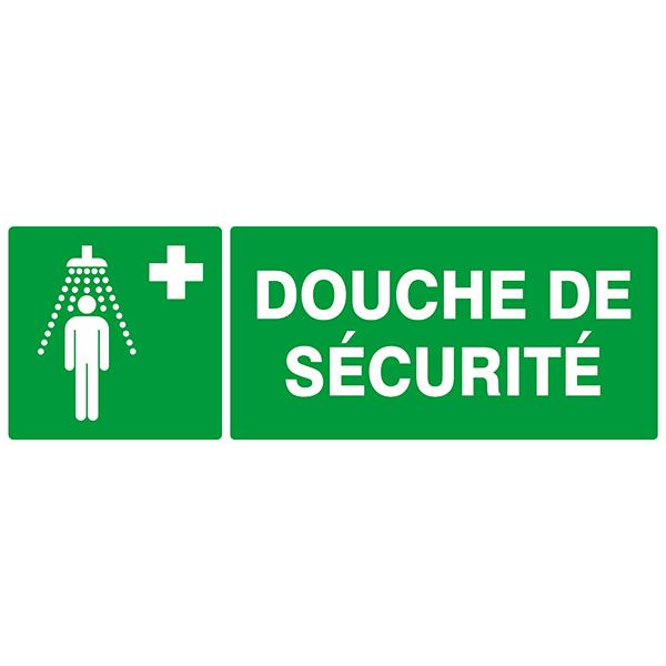 Douche de securite signaux secours evacuation achatmat - Reglementation douche de securite ...