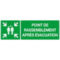 POINT DE RASSEMBLEMENT APRES EVACUATION