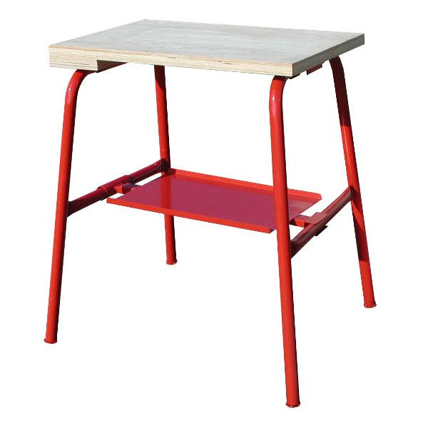 etabli de plombier avec tablette table de m tiers achatmat. Black Bedroom Furniture Sets. Home Design Ideas