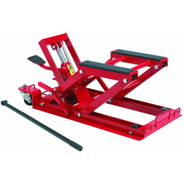 L ve moto hydraulique 500 kg tables de levage achatmat - Table leve moto hydraulique ...
