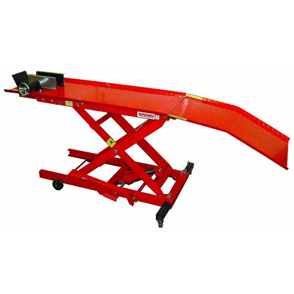 Table l vatrice hydraulique moto 300 kg tables de for Table elevatrice moto