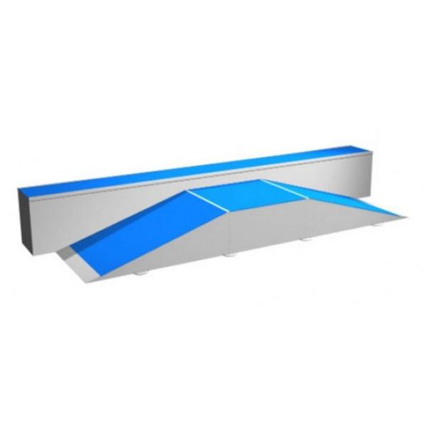 rampe skate beginner box terrains rampe de skate achatmat. Black Bedroom Furniture Sets. Home Design Ideas