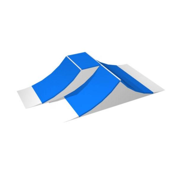 rampe skate double spine terrains rampe de skate achatmat. Black Bedroom Furniture Sets. Home Design Ideas