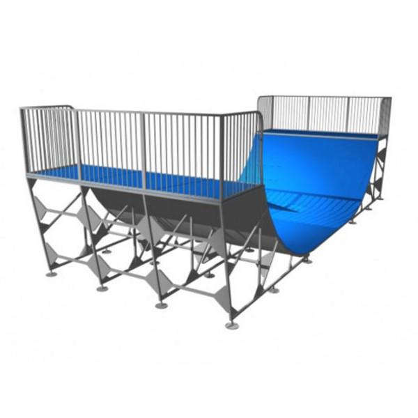 rampe skate mini ramp 140 terrains rampe de skate achatmat. Black Bedroom Furniture Sets. Home Design Ideas