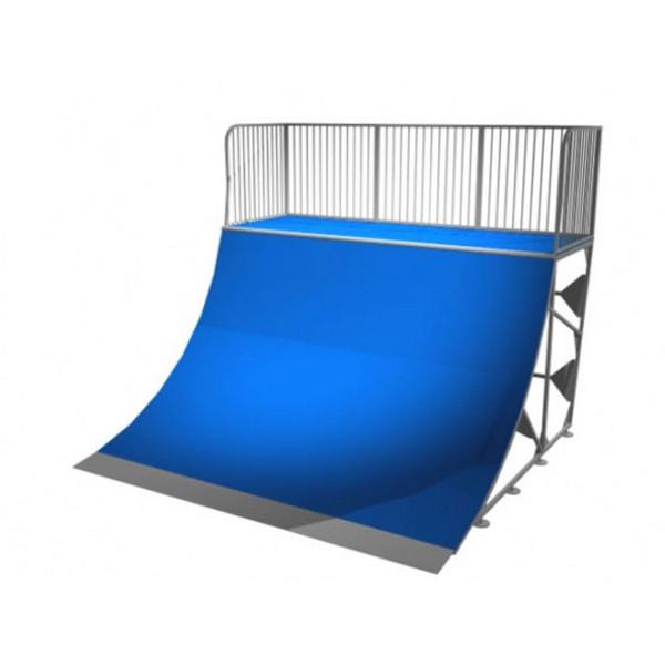 rampe skate quarter pipe 140 terrains rampe de skate achatmat. Black Bedroom Furniture Sets. Home Design Ideas
