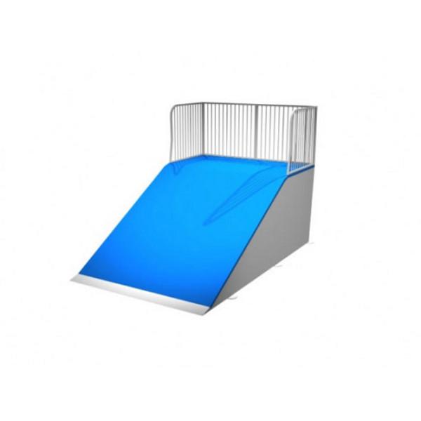 rampe skate smooth bank terrains rampe de skate achatmat. Black Bedroom Furniture Sets. Home Design Ideas