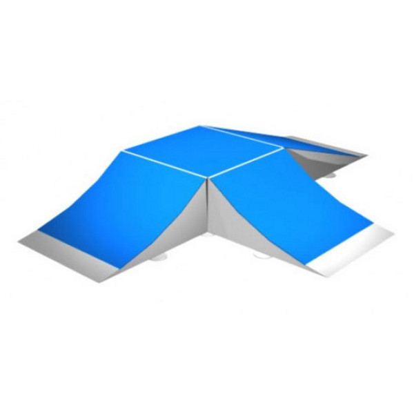 rampe skates fun box 60 a terrains rampe de skate achatmat. Black Bedroom Furniture Sets. Home Design Ideas