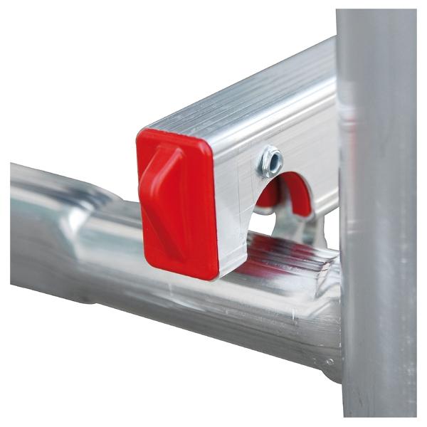 Echafaudage en aluminium